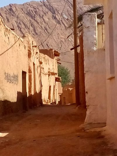 Village Rouge Red Village My Village Old Buildings Old Street Village Life Architecture Desert Life Algeria Biskra