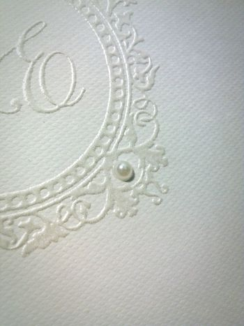 Onpaper Delicate White Wedding Pearl Happiness