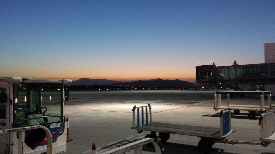 Malaga airport Malaga Puerto Malaga Sunset Sunsetlover Airport Runway Airportmalaga Airport Runway