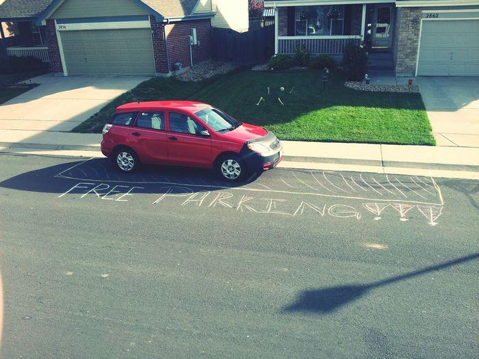 Free parking bitchezz. RedCar