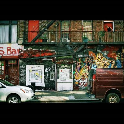 Bowery, Manhattan, NYC. August 2010.