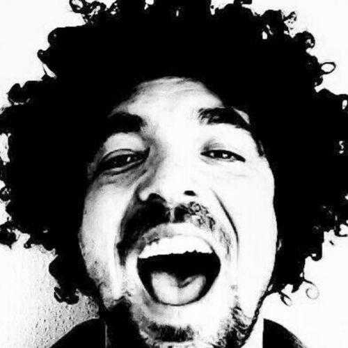 New Look Jimi Hendrix Diego Maradona Pelusa Andres Calamaro Bob Marley Lenny Kravitz Afrohair Cool Pull Fiction