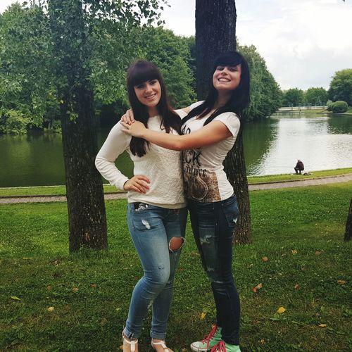 Sisters ❤ Summer2015 Happy People Hugs Love ♥ Smile ✌ River Park VICTORYPARK