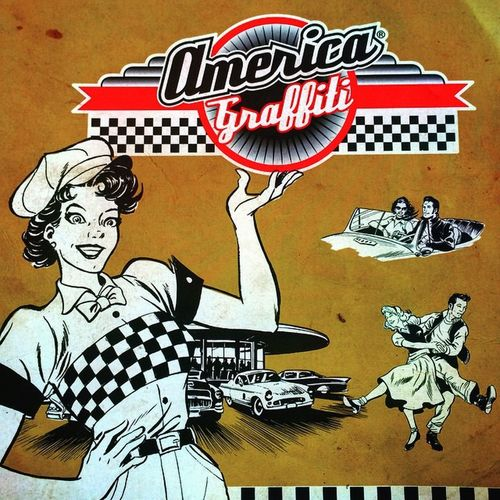 Americagraffiti Veganburger