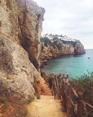 Menorca Beach Longwalk Sunshine Enjoying Life Holidays Nature Steps The Secret Spaces
