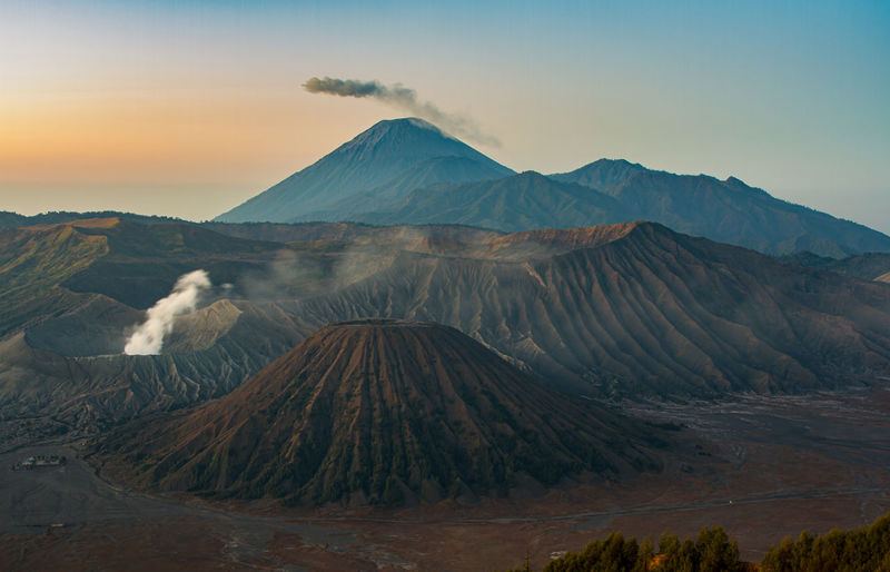 Mount Bromo, in
