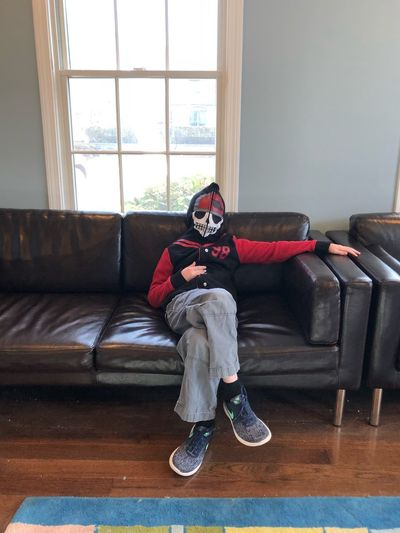 In the waiting room Indoors  Living Room Full Length One Person Real People Young Adult Looking At Camera Casual Clothing Portrait EyeEmNewHere