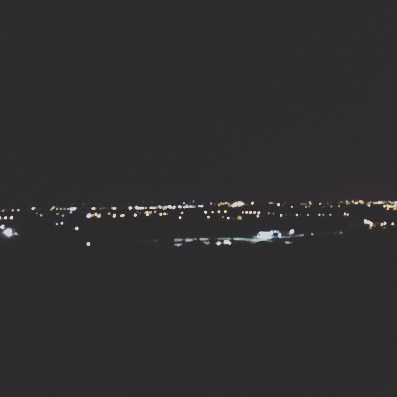 illuminated, night, no people, city, nature, outdoors, sky