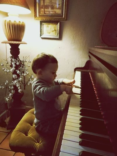 Piano Moments Young Pianist Piano Day Charming Baby Little Musician Piano🎶 Piano Magic