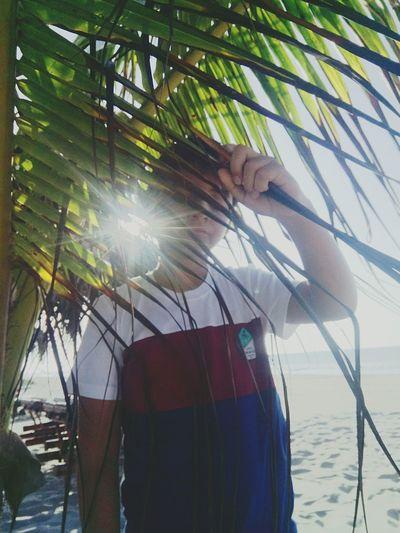🌴Beach 🌴 Palm Tree Nature Tree Water Day Outdoors Sea first eyeem photo