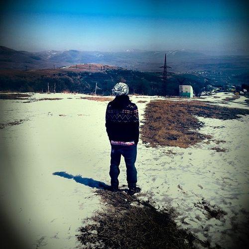 Snow at Armenia