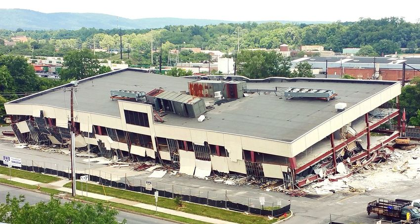 Demolition Fail Harrisburg Pennsylvania Check This Out Followme Urban Lifestyle Urbanexploration