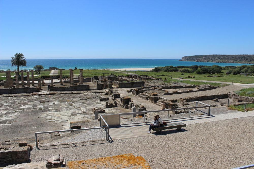 Ancient Ruins Baelo Claudia Bolonia Beach Bolonia Spain Clear Sky Roman Ruins Ruinas Romanas Tarifa Spain