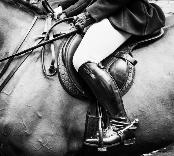 English hunt riding boots. Human Body Part One Person Real People Body Part Boots Boot Horse Hunting Hunt Riding Riding Boots Saddle Hunting Pink Stirrup Stirrups Country Life Country Sports Countryside Sport