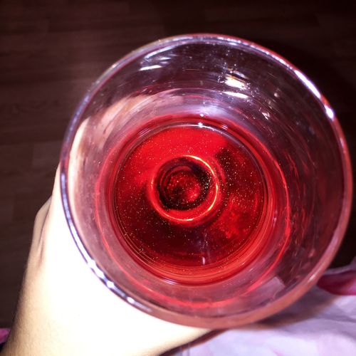 Sparkling Wine Drink Red Close-up