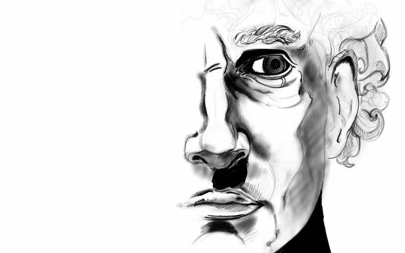 Sketchbook Stillinprogress Blackandwhite Sculpture Doodling Wallpaper Drawing Art