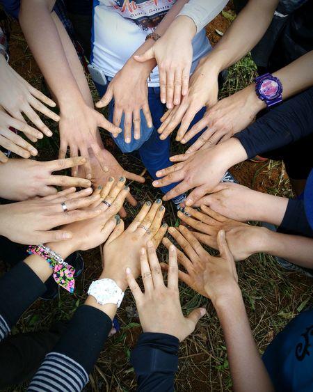 Green hands! 😊🌱🍀🌳 Treeplanting SaveMotherEarth Lovemotherearth Nature Save FEEDph
