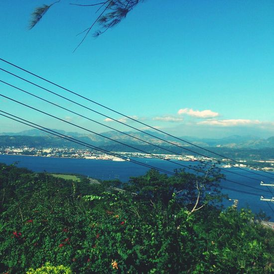 View from the house. Subic
