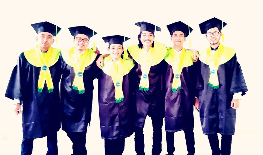 Graduation Moment in Nov'018 Friendship Happiness Men Smiling Togetherness Cheerful Community First Eyeem Photo