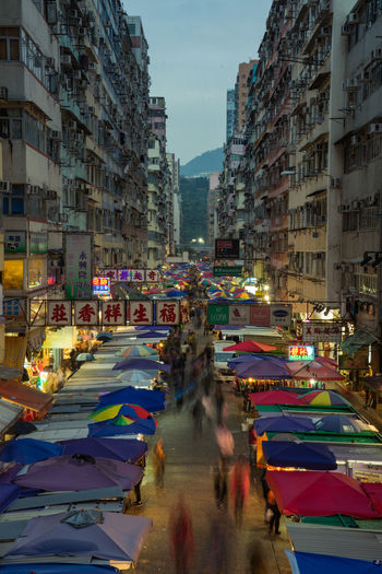 the beautiful night market at the fa yuen street, Hongkong ASIA Fa Yuen Street HongKong Hongkong Photos Market Urban Lifestyle Architecture Building Exterior Built Structure City Colorful Crowd Day Hongkongphotography Long Exposure Outdoors People Real People Sky Street Urban Skyline Urbanphotography