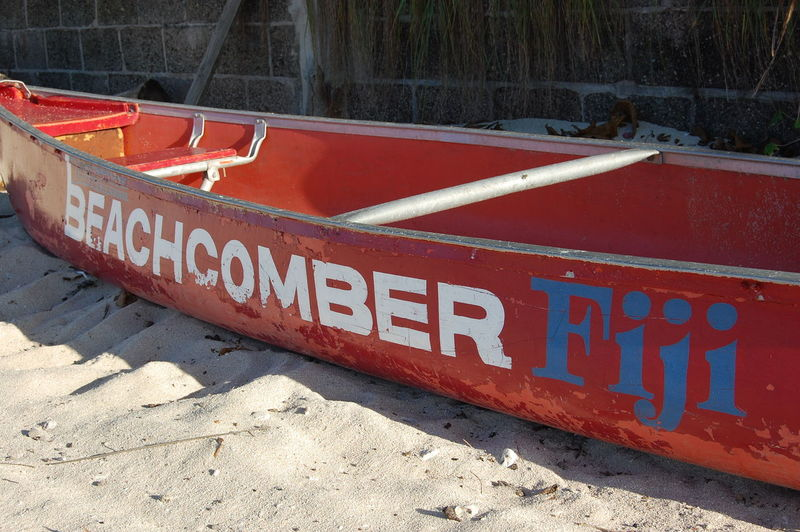 Red boat Beachcomber island. Fiji Text Red Communication Nautical Vessel Western Script Land Nature Day No People Sign Sand Safety Water Mode Of Transportation Transportation Moored Beach Outdoors Boat Beachcomber Island Fiji Fiji Islands Red Boat Holiday Tropical Climate Tropical Island Tropical Island Holiday