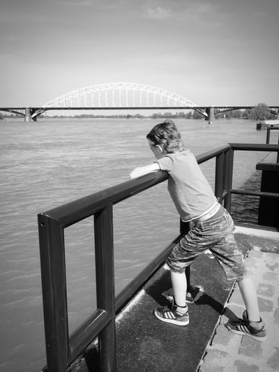 A view to a kill Blackandwhite Bridge Waalbrug Nijmegen
