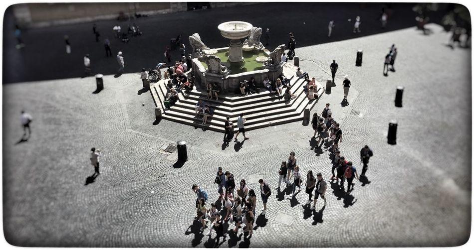 Roma Piazza Santa Maria In Trastevere