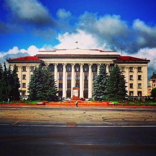Courthouse in Zhytomyr Courthouse Zhytomyr Ukraine