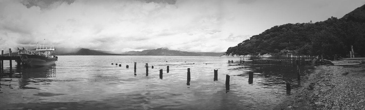 Lago Atitlán Guatemala Melancholic Landscapes Black&white