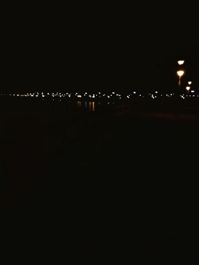 Every one has... Night Dark Sky No People Illuminated City Outdoors The City Light