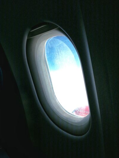 From The Rooftop On Top Of The World From An Airplane Window Window View Aerial Shot Jet Air Malta Airbus