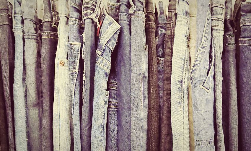 Backgrounds Full Frame Textile In A Row Repetition Weathered Urban Photography Blue Jeans Design Jeans Jeans Shopping Patterns & Textures Pattern, Texture, Shape And Form Pants Streetphotography Street Photography Textures And Surfaces Still Life Fine Art Urban Geometry Urban Exploration Urban Lifestyle Fashion