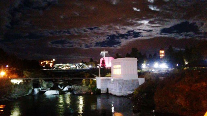Nite Lights Moon Light Spokane Wa