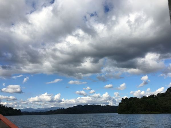 I Love The Sky Cloud - Sky Water Landscape Nature Sky Ratchaprapa Dam Thailand I Love Thailand Chunsumonpics