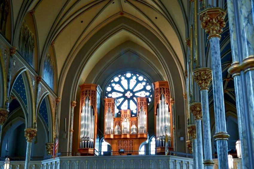 St. John The Baptist Cathedral Savannah Savannah Cathedral Church Architecture Architecture_collection Architectural Detail