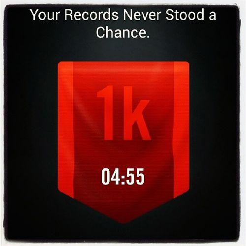 Keeprunning MyFastest1k Nikerunning NikeRun