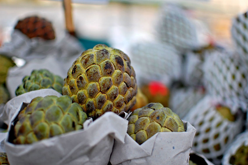Sugar Apple Close-up Day Focus On Foreground Food Food And Drink Freshness Healthy Eating Market Nature No People Outdoors Sugarapple Food Stories