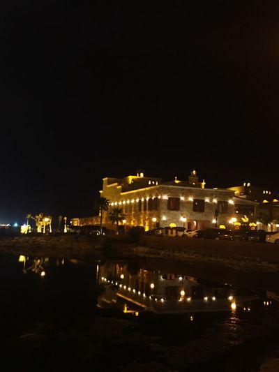 Reflections Illuminated Night Travel Destinations Outdoors City Cityscape Restaurant Experience