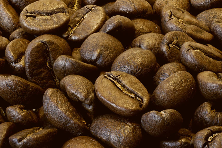 Coffee Beans Beans Brown Cafe Close-up Coffee Coffee Beans Food And Drink Ingredients Macro No People Roast Roasted Still Life Texture