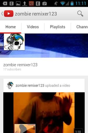 Subscribe to this guy he us a growing channel and if you like music skits etc you'll like him