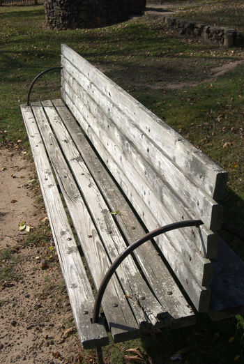 Architecture Bench Bench Seat Empty End Of Summer Gray Grey Lonely Nature Park Place To Sit Relaxation Relaxing Moments Seat Wood - Material
