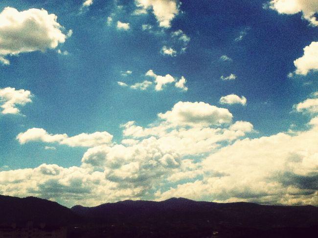 Mi Huixquilucan. Harto frío pero que bonito ♡ Clouds And Sky Landscape