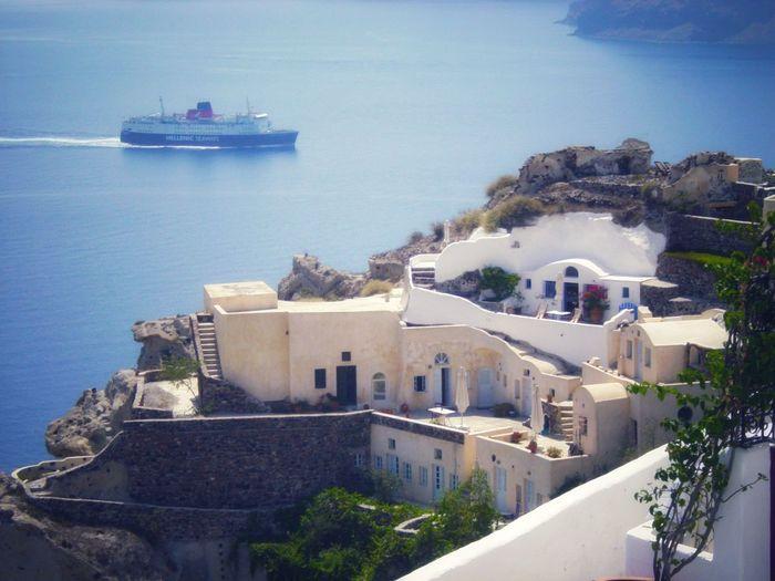 Aegean beauty... Aegean Sea Santorini Island Oia Santorini Seascape Kyclades City Water Sea Cityscape Beach Urban Skyline History Town Roof