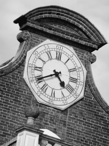Clock Face of Christchurch Mansion EyeEmNewHere Clock Architecture Low Angle View Building Exterior Time Built Structure No People Roman Numeral Clock Face Old Instrument Of Time Minute Hand