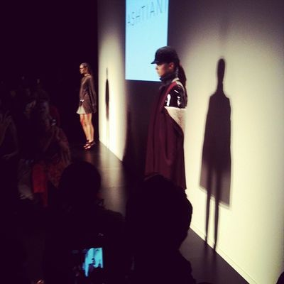 Beautiful cape at Ashtiani @golnazashtiani Wmcfw Fashion Style Torontofashionweek instagood instamood