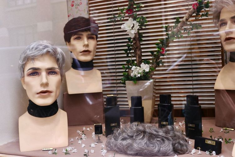Barber Shop Coiffure Hair Cut Hair Products Hair Style Male Likeness Male Mannequin No People
