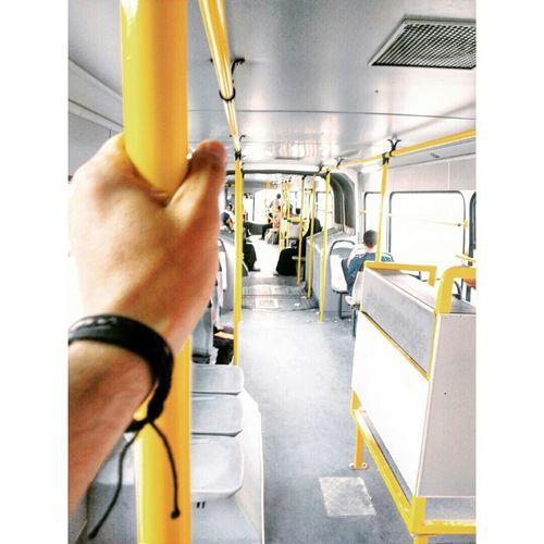 My Smartphone Life Bus Yellow Gabes Tunisie Tunisia Eyeem Tunisia