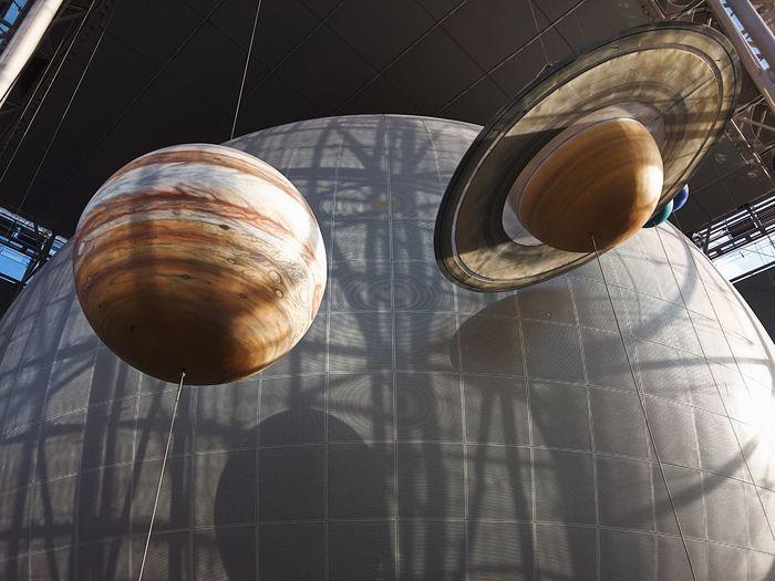 Close-up Hayden Planetarium Indoors  No People