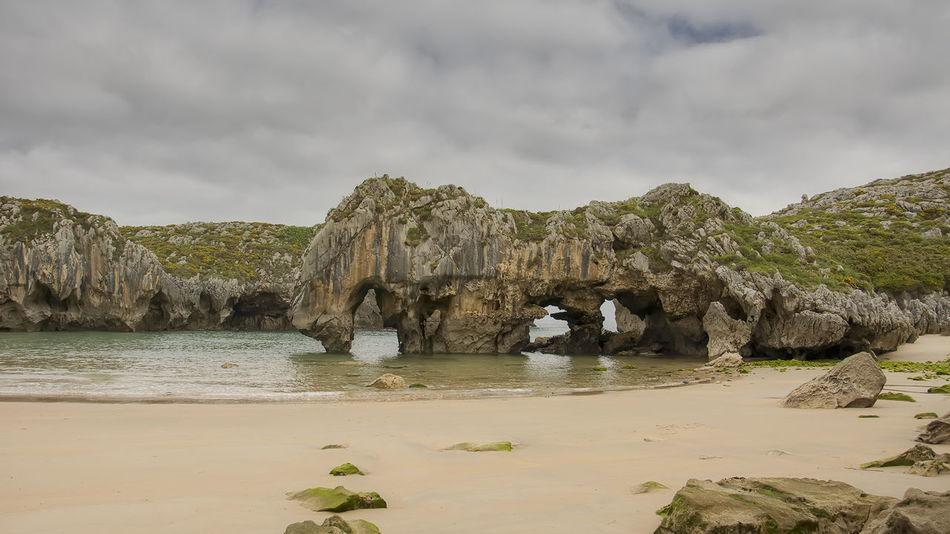 Llanes Asturias Beach Beauty In Nature Cuevas Del Mar Nature