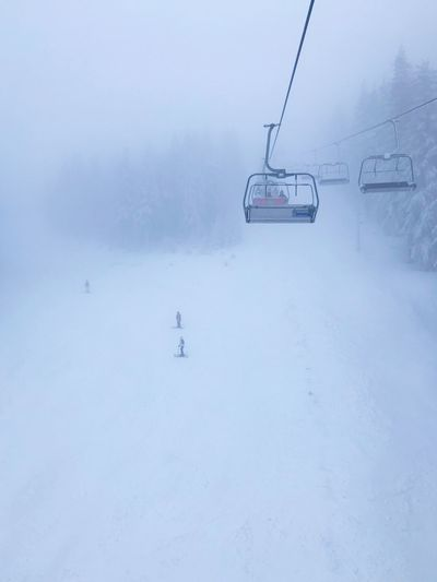 Ski Cold Temperature Snow Winter Ski Lift Cable Car Transportation Covering Mode Of Transportation White Color Day Nature Environment Non-urban Scene Scenics - Nature Beauty In Nature Overhead Cable Car Land Field Mountain No People